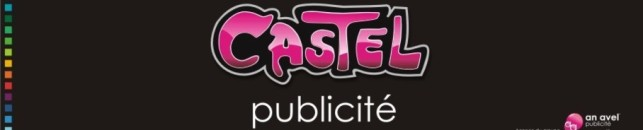 logo CASTEL publicité